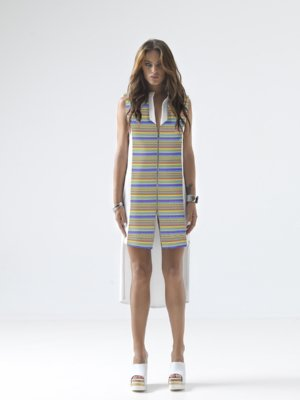 T1607__LOOKBOOK UPBEAT JERSEY VEST DRESS TIKTO TIKTOATHENS