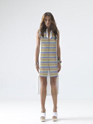T1607__LOOKBOOK UPBEAT JERSEY VEST DRESS TIKTO TIKTOATHENS