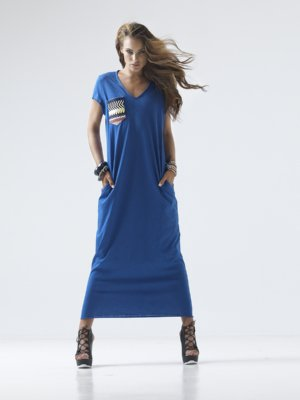 T1610_LOOKBOOK FUN LOVING JERSEY DRESS TIKTO TIKTOATHENS