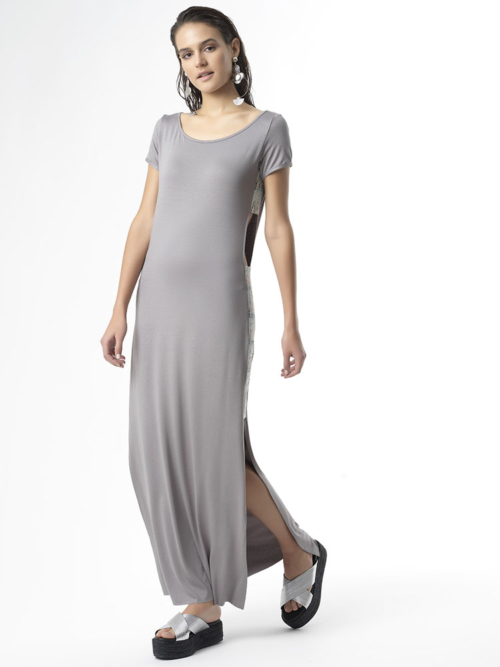T1729 FRONT_GREY FOLLOW YOUR HEART JERSEY LONG DRESS TIKTO TIKTOATHENS