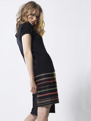 T1805 BLACK SIDE LIGHT OUT DRESS TIKTO TIKTOATHENS