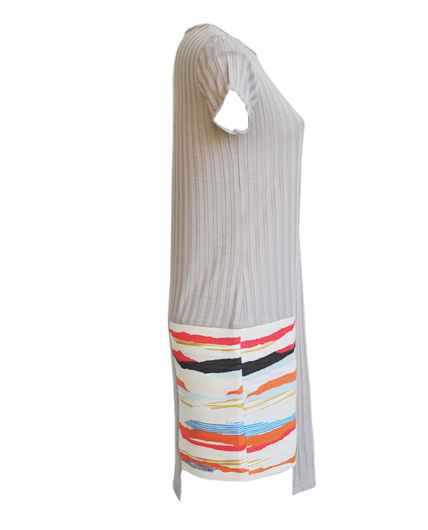 T1805 SAND SIDE LIGHT OUT DRESS TIKTO TIKTOATHENS