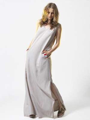 T1808 BEIGE SUNRISE DRESS TIKTO TIKTOATHENS
