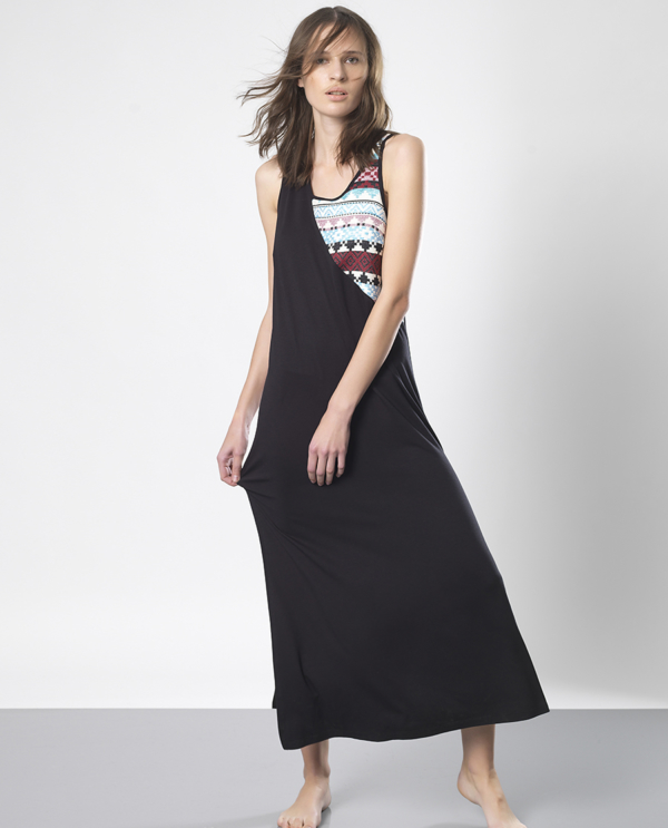 T1810 BLACK SUMMER TIME DRESS TIKTO TIKTOATHENS
