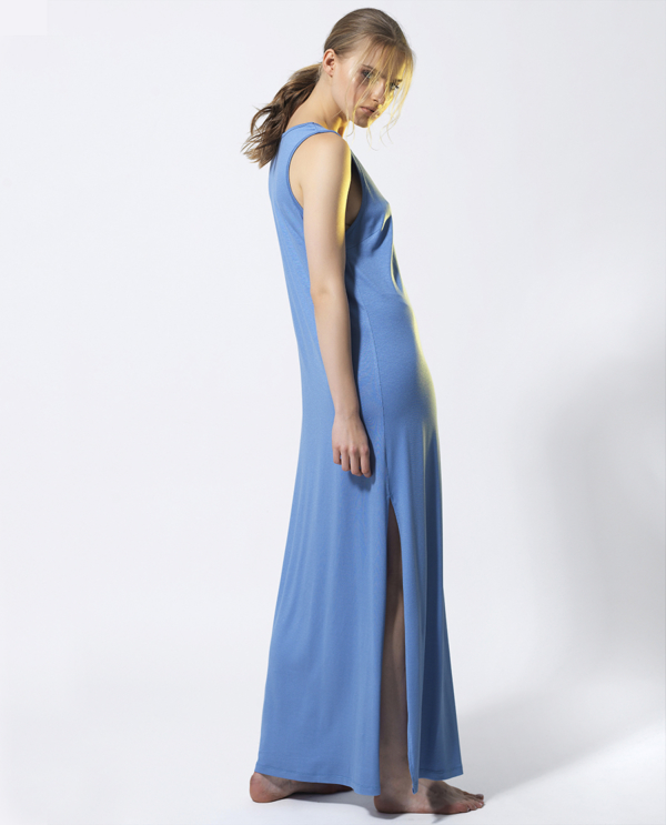 T1810 BLUE SIDE SUMMER TIME DRESS TIKTO TIKTOATHENS
